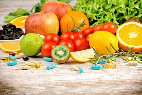 Suplementos alimentares para uma vida saudável