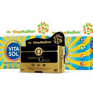 Vitasol (x2) + Omega Gold