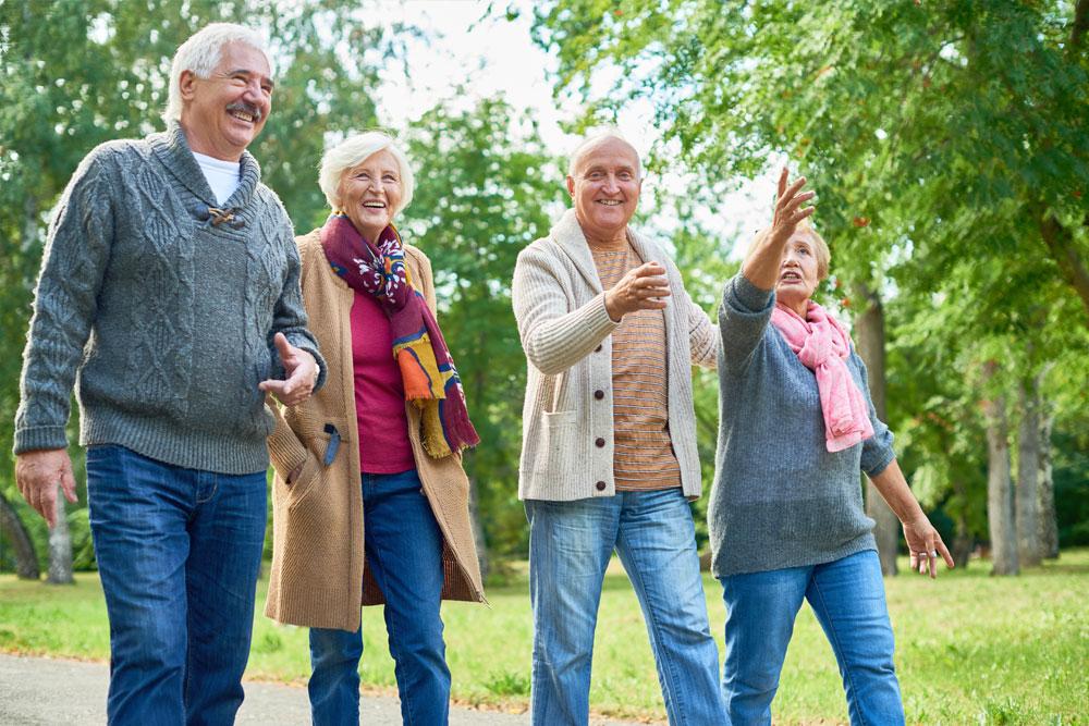 Viver com saúde depois dos 60 anos