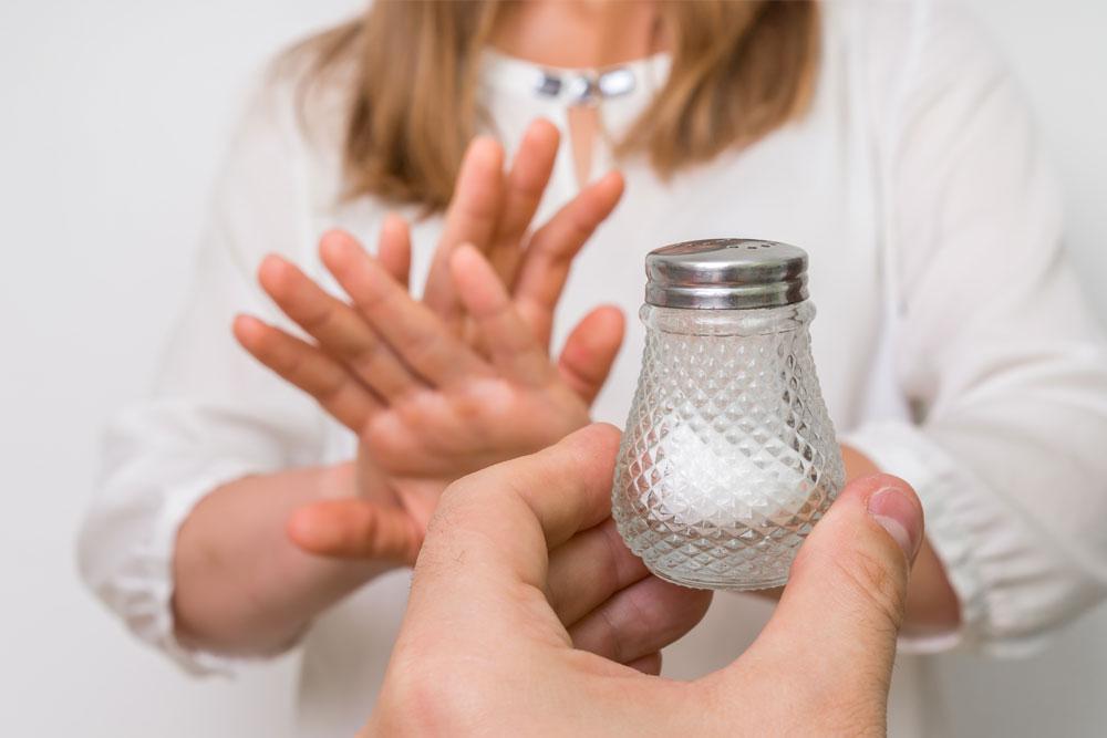 Perigos do consumo de sal em excesso
