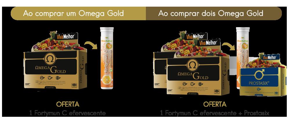 Promoção Omega Gold Fevereiro