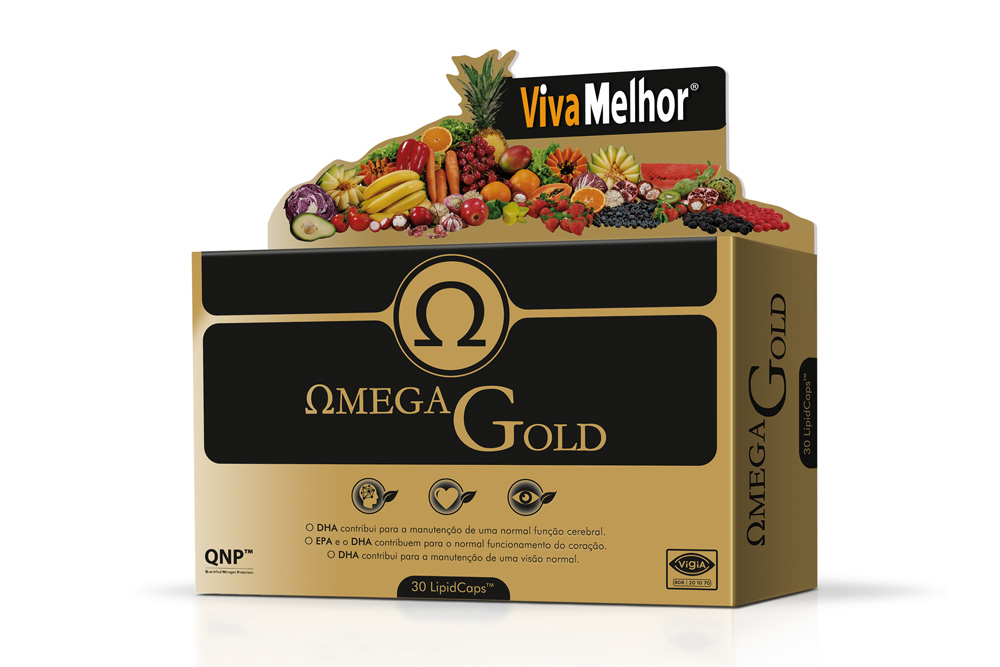 Produto estrela do mês: Omega Gold