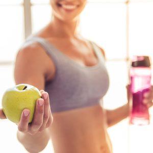 Alimentação saudável e exercício físico - uma parceria de sucesso