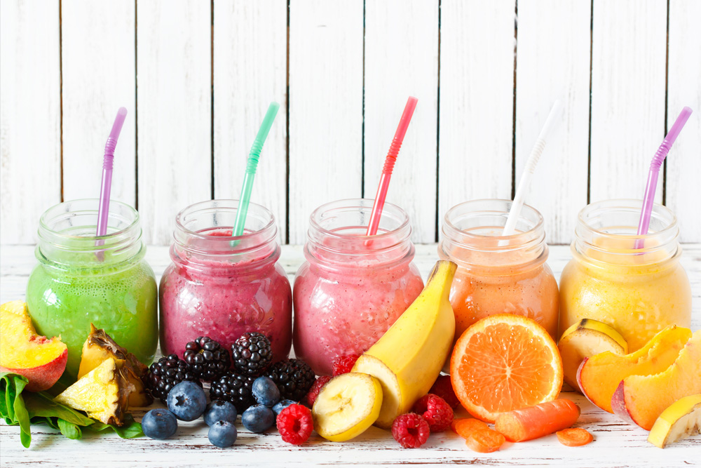 Batidos saudáveis para refrescar e dar energia