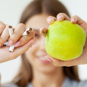 Dicas para deixar de fumar sem ganhar peso